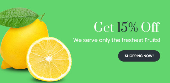 15% Off Lemon Juice