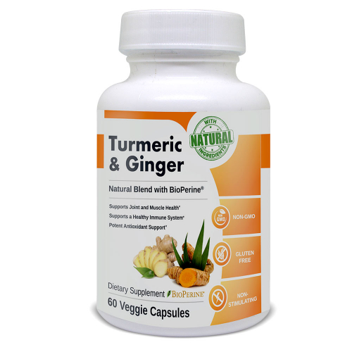 Turmeric And Ginger Supplements