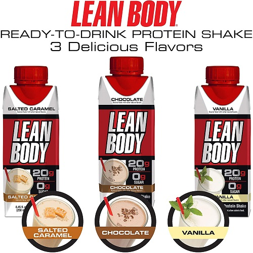 Lean Body Ready-To-Drink Chocolate Shake
