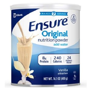 Ensure Original Nutrition Powder With 8 Grams Of Vanilla Protein